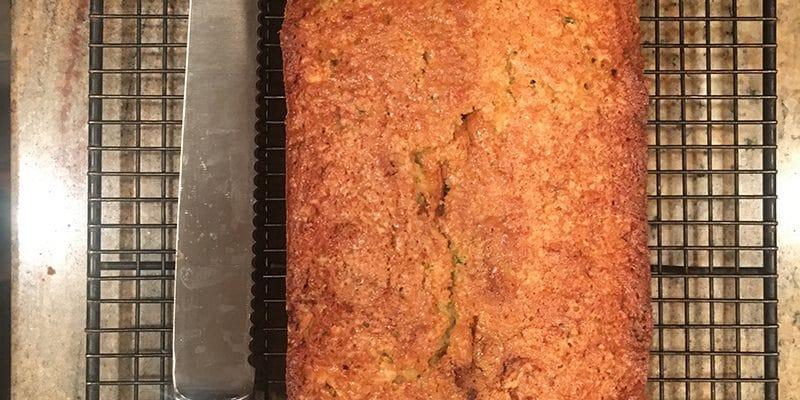 Divinely Lemon Zucchini Bread Recipe Printable