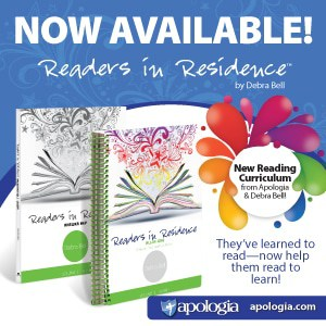 Readers in Residence by Apologia