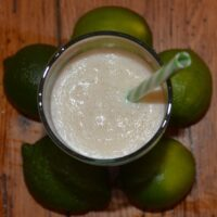 Banana Lime Freeze – a Smoothie Recipe