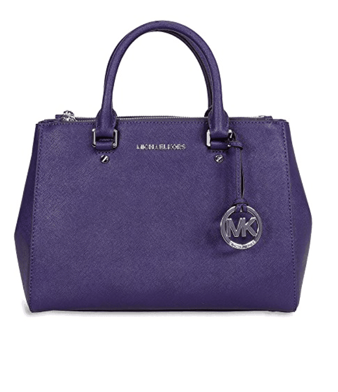 Michael Kors. Purple purse.
