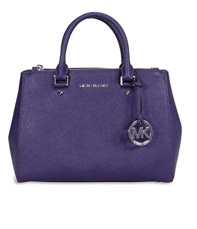 Michael Kors. Purple purse.