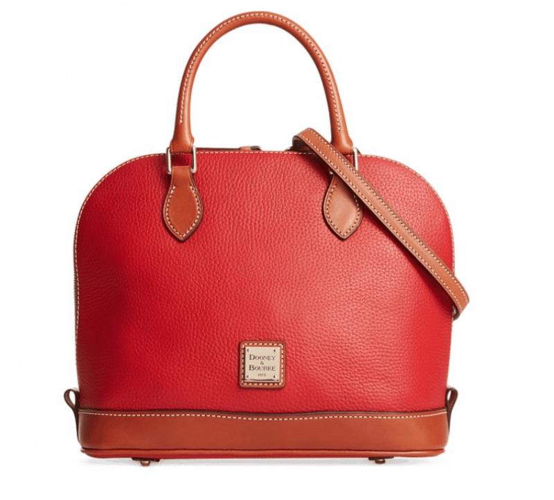 Dooney and Bourke Handbag, Red, Best Purses for Mom