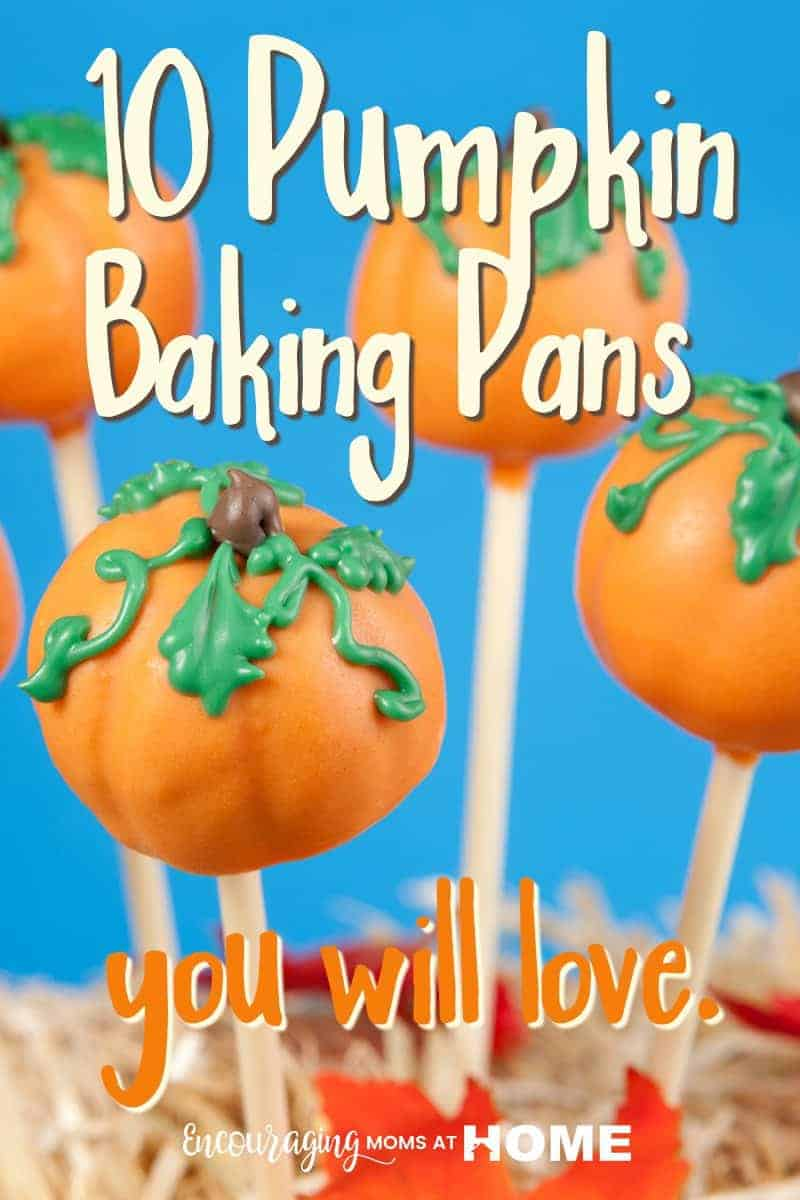 Pumpkin Baking Pans perfect for all holiday baking.