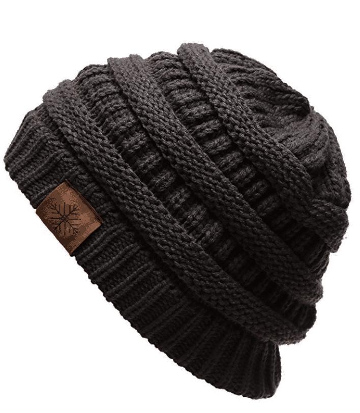 cute hat for fall crochet, knit hat beanie