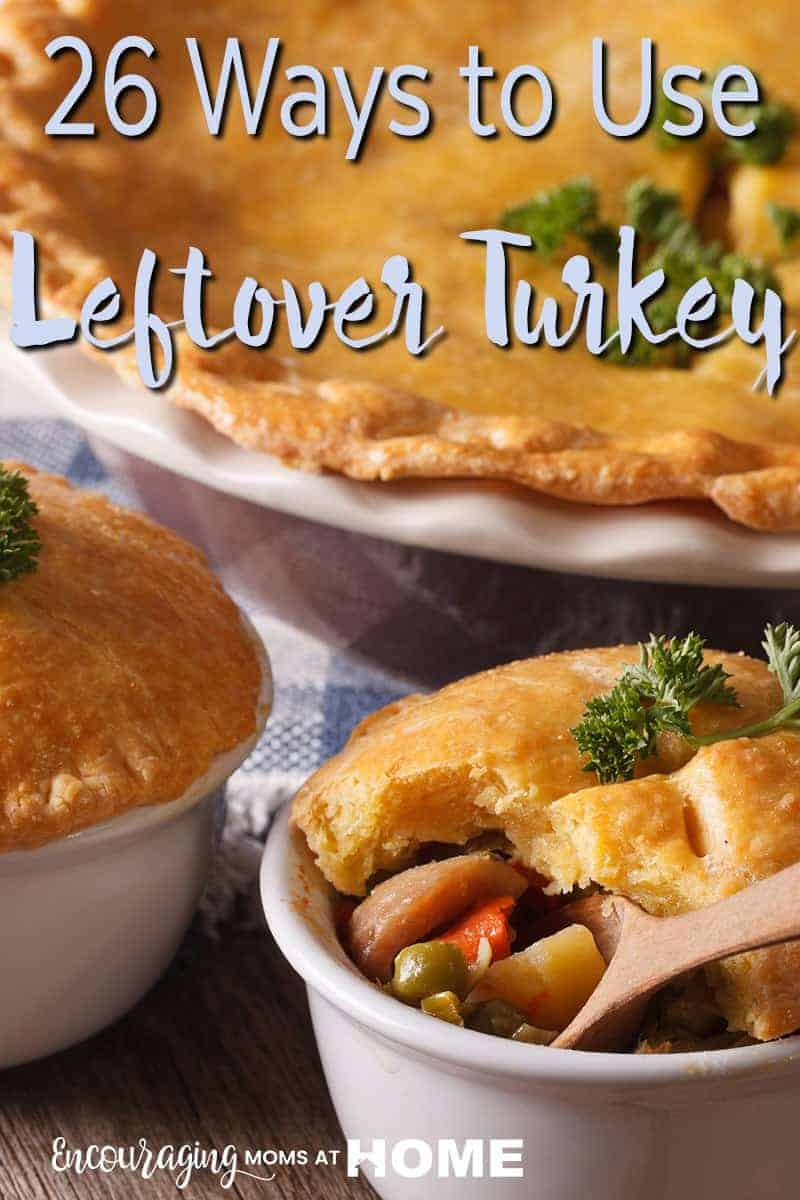 Looking for creative ways to use the turkey leftover from Thanksgiving and Christmas? Here are 26 delicious recipes to help you do just that.