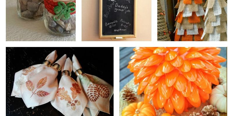 Thanksgiving Crafts for Moms to Decorate the Home