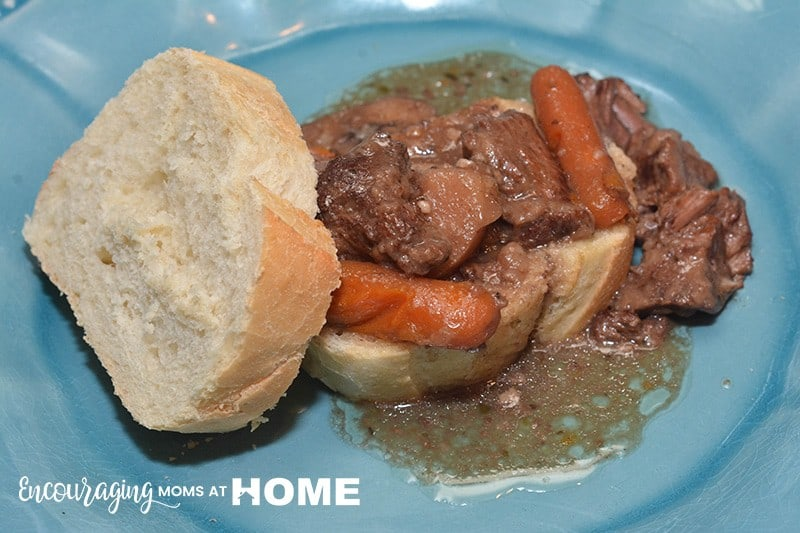 Looking for an easy recipe for Beef Bourguignon. Try this one for the Instant. It is sure to become a family favorite.