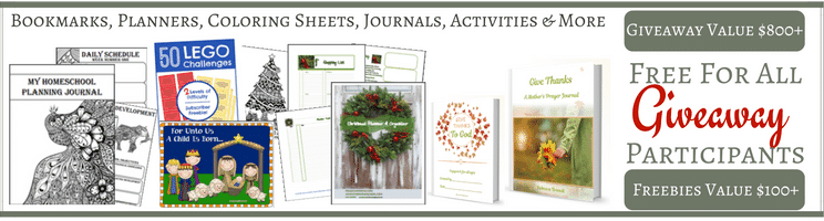 Keeping Christ in Christmas Giveaway Freebies