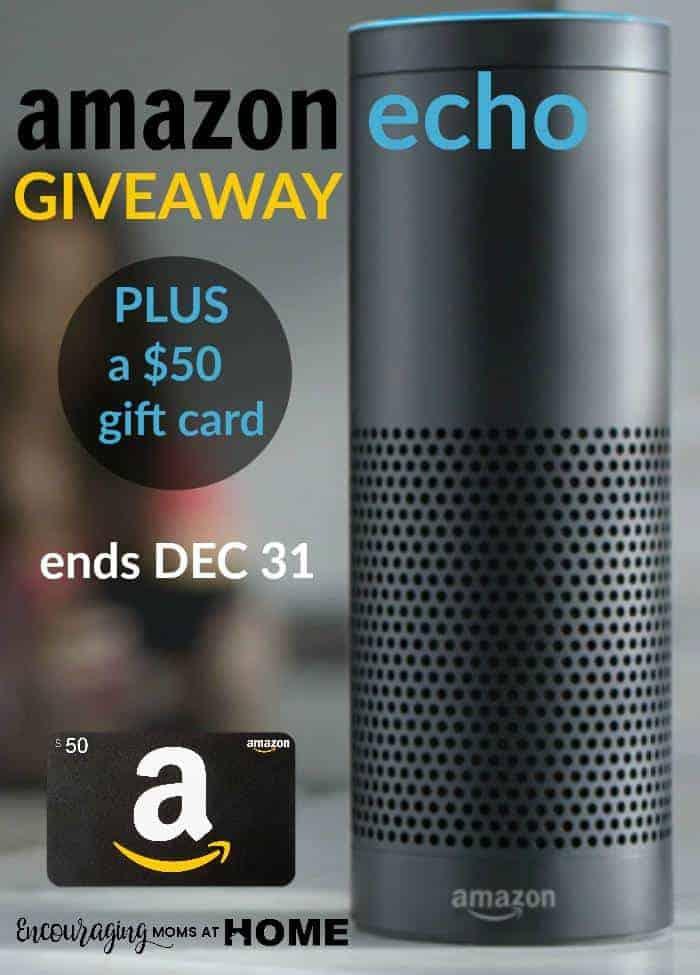 Amazon Echo Giveaway