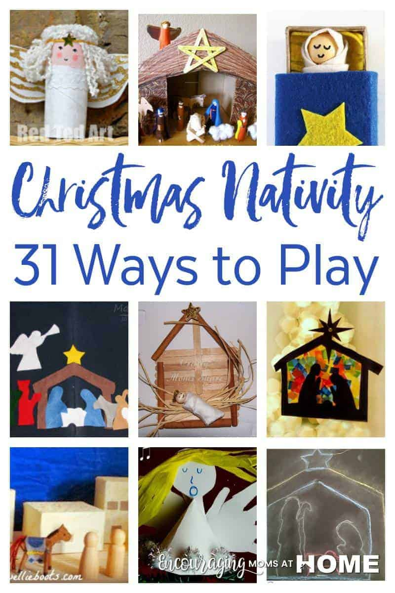 Christian Nativity Crafts and Ways to Play
