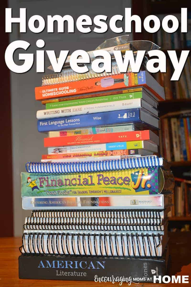 Huge Homeschool Moms Giveaway - Prize Package One