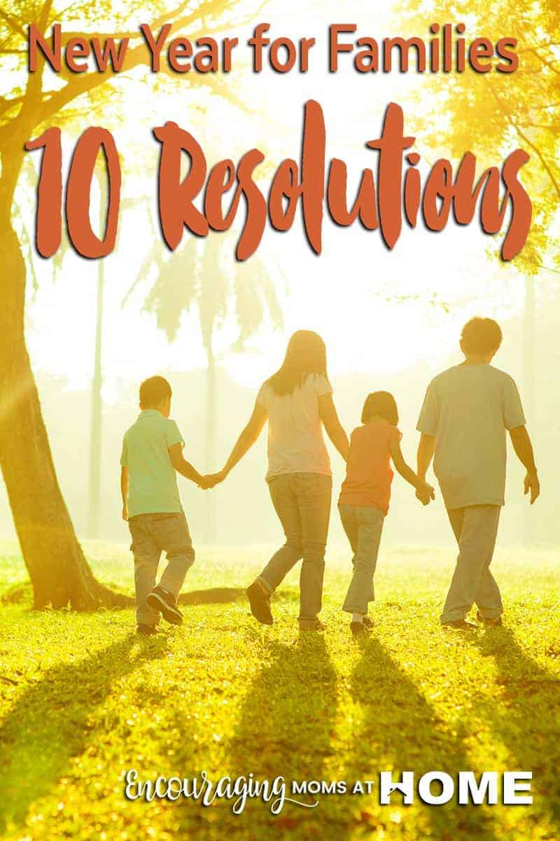New Year's Resolutions for Families