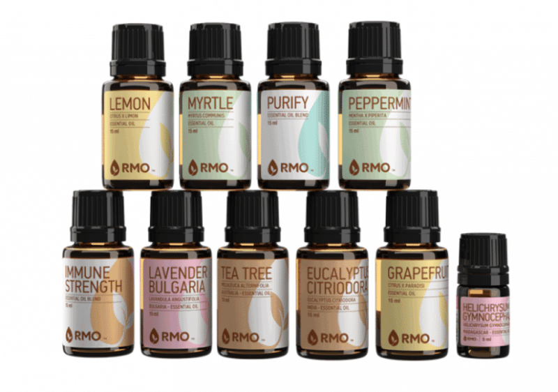 Best Gifts for Busy Work at Home Moms - Essential Oils from Rocky Mountain Oils - Mom's Essentials Kit