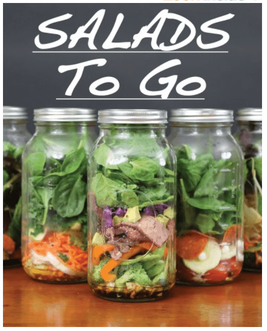 Free Kindle CookBooks _ Salads to Go