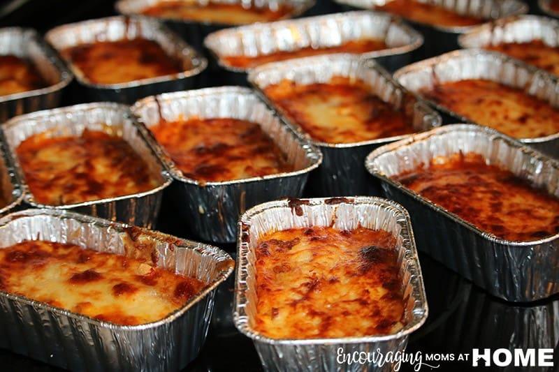 Individual Servings Of Trim Healthy Mama Lazy Lasagna