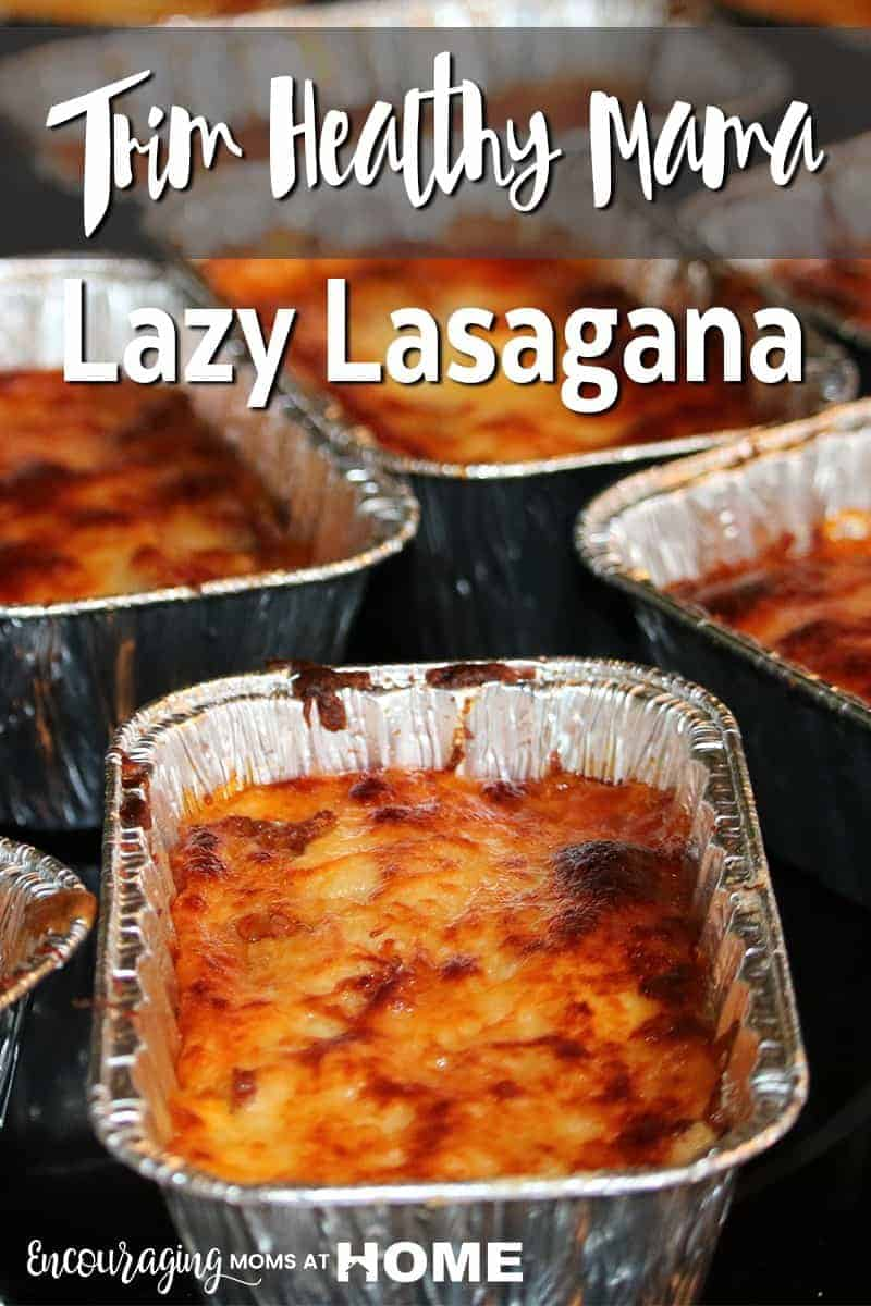 Lazy Lasagna on the Go for Trim Healthy Mama
