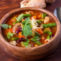 Minestrone Soup for the Instant Pot