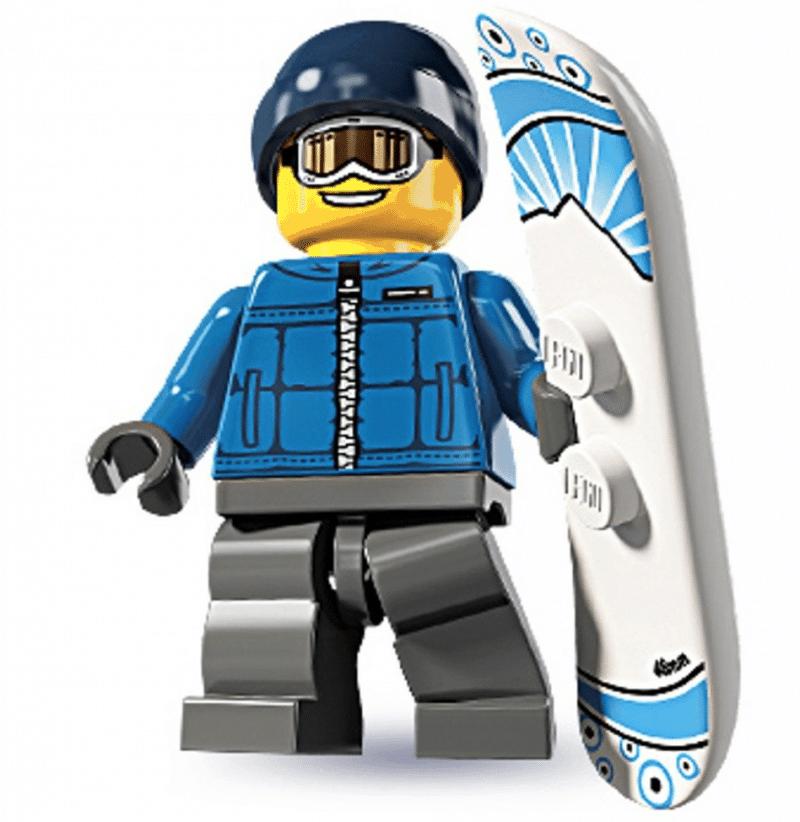 Snow Boarding LEGO Dude