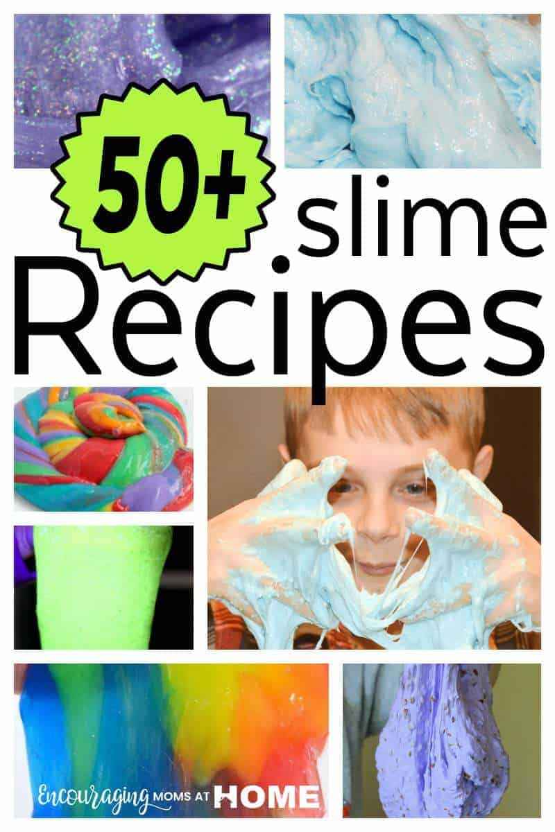 50 Awesome Easy Slime Recipes Kids