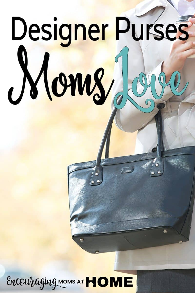 Women, especially moms, love purses. We just do!  We want a purse that is the right size for all the things moms have to carry without breaking our back. And being well-made is a must. Take a look at a few favorites that meet these needs and more.