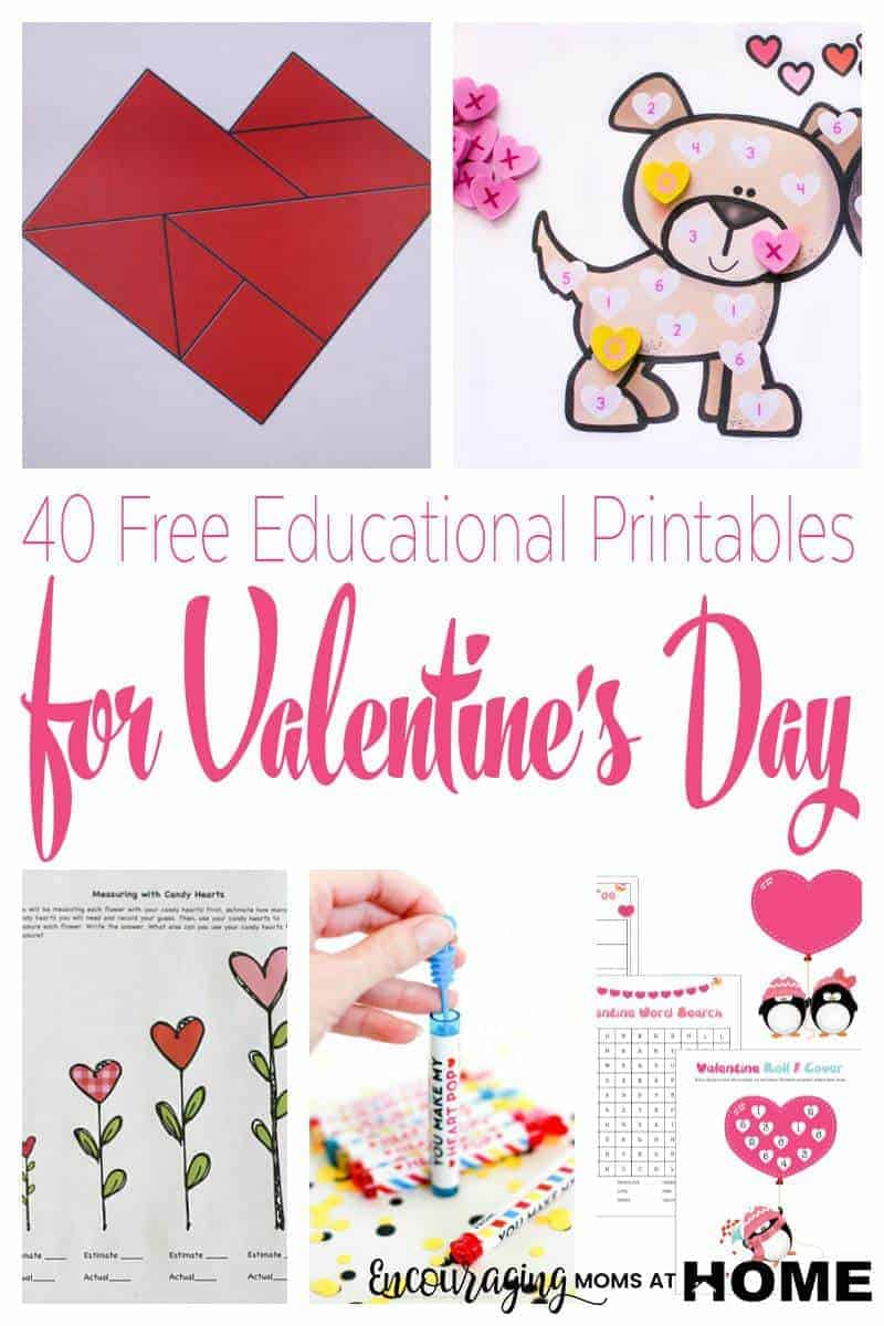 Free Printable Valentine's Day Educational Activities