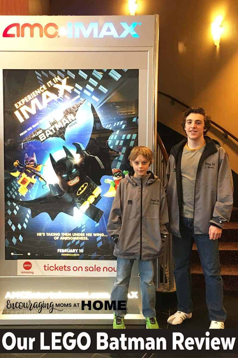 Curious about the LEGO Batman Movie? Take a look at what my kids have to say about it.