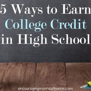 5 Ways to Earn College Credit in High School