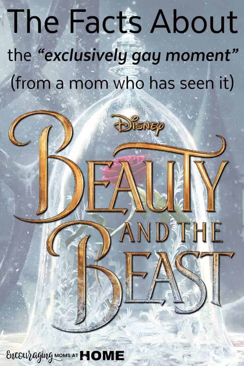 I saw Beauty and the Beast early - the facts about the exclusive gay moment everyone is wondering about through a mom's eyes.