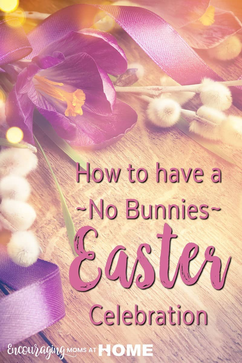 Are you looking for resources to renew your focus on Christ this Easter? I am very excited about this collection of decorations, activities, and devotions that teach kids the true meaning of Easter. With no bunnies!