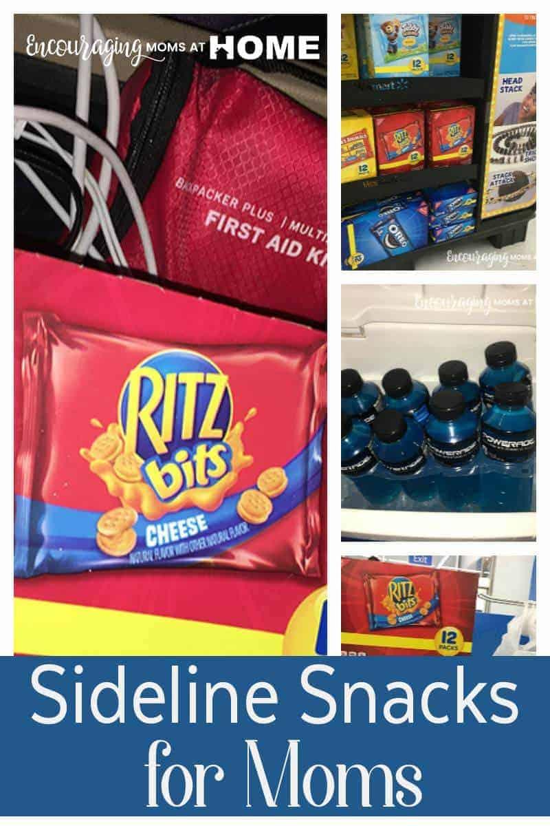 Sideline Snacks for Moms - best snacks for game day