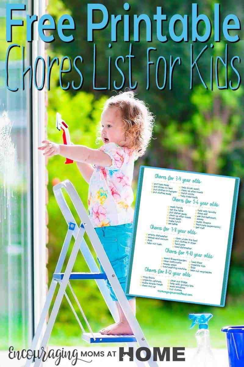 Looking for a way to build life skills into your kids? Participating in the household chores is a great way to prepare them for adulthood. Take a look at our comprehensive list for Ages 3-12 with FREE printable.