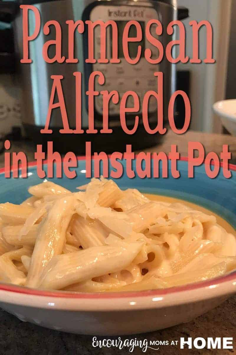 Does your family love Parmesan Alfredo?  Take a look at this easy and delicious Al Dente Parmesan Alfredo recipe for the Instant Pot