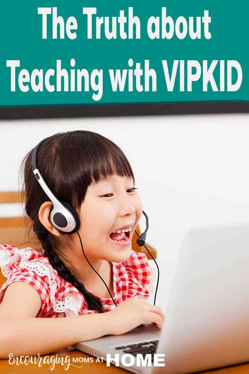 Teaching with VIPKID is a great opportunity to work from home. Take a look at what it's really like from one mom who has made the decision to be a VIPKID teacher.