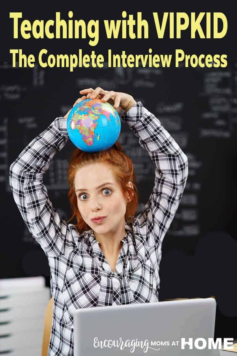 Are you in search of a job where you can set your own hours and work from home?  Teaching with VIPKID is a great way to meet both of those needs.  Take a look at their interview process from a mom who works for them.
