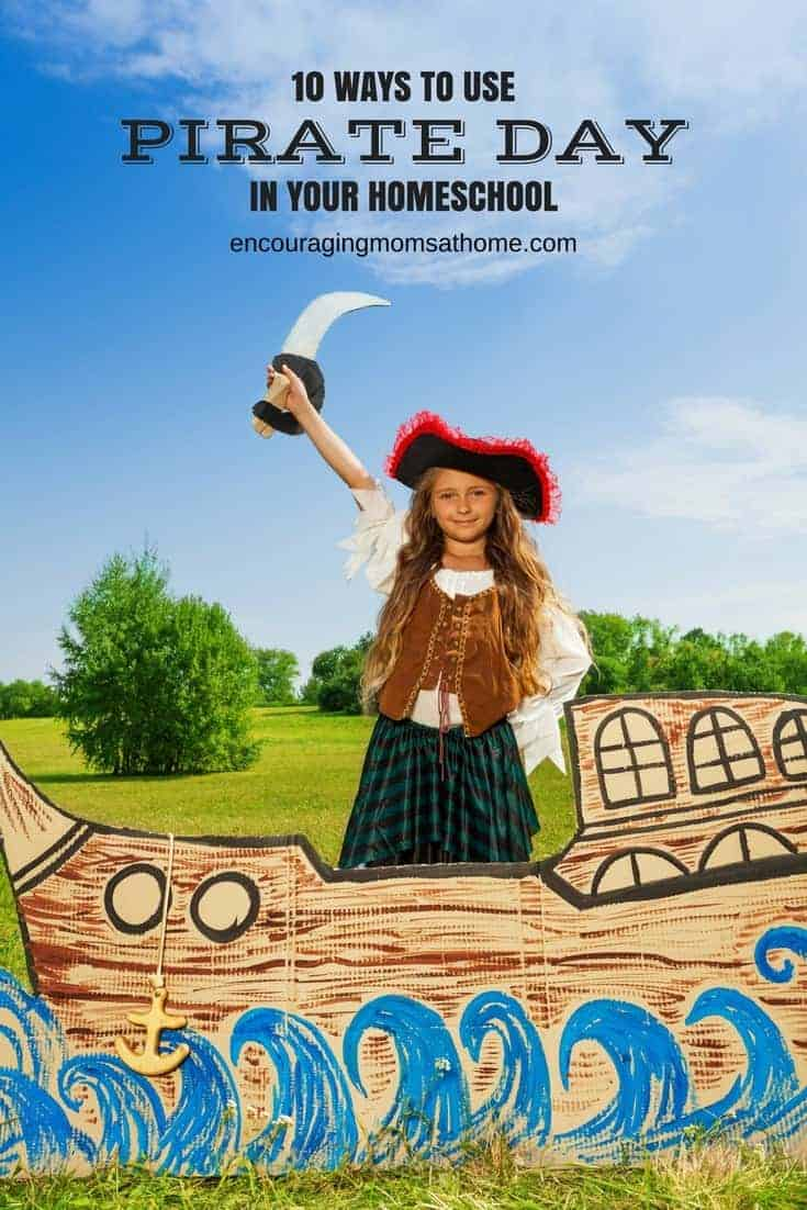 Celebrate Pirate Day in your homeschool!