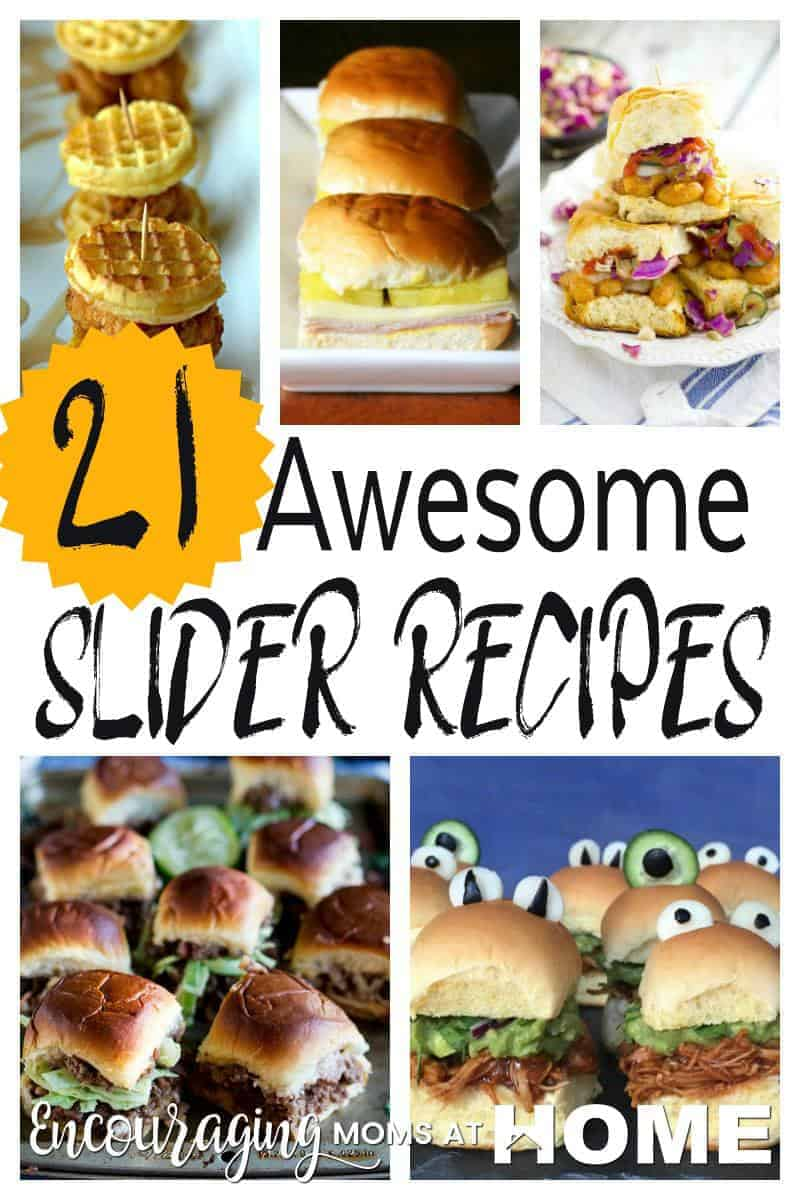 Sliders are a win-win for any family no matter how large or small with all types of appetites! Take a look at thise 21 recipes that are sure to have your family asking for them again and again.