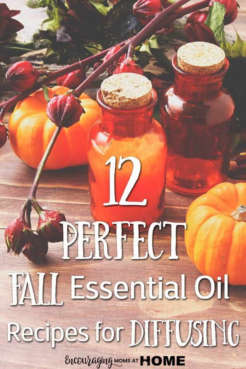 Fall Essential Oil Recipes for the Diffuser