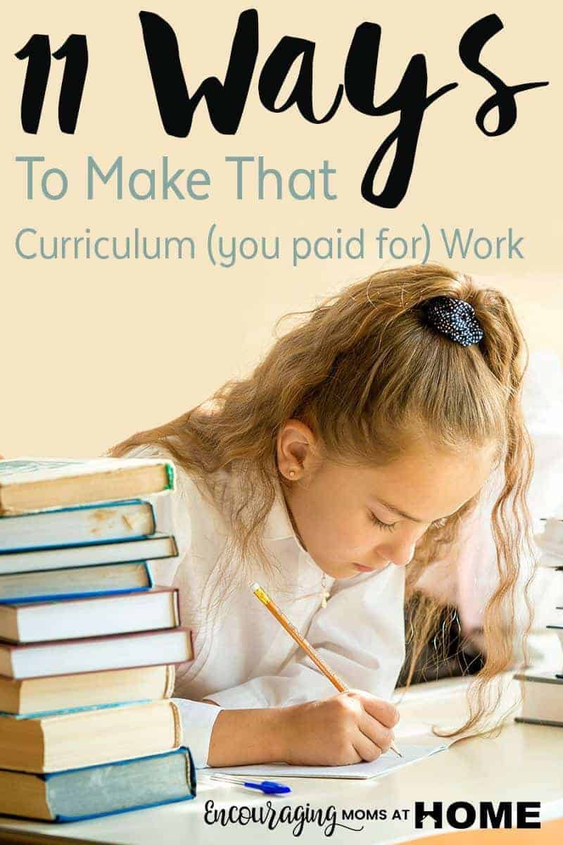 Do you know what it means to 'bend the book' when it comes to curriculum? It means to you adjust to fit your child. Take a look at these simple ways to 'bend the book' as you homeschool.