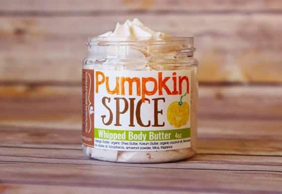 Pumpkin Spice Body Butter - Pumpkin Spice Latte Gifts