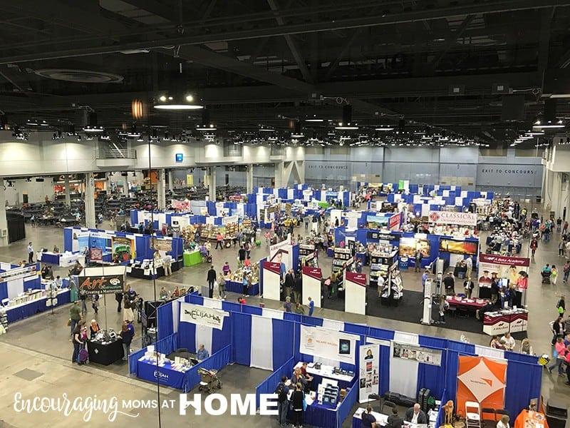 Great Homeschool Conventions Cincinnati 2017 Vendor Hall Side Two