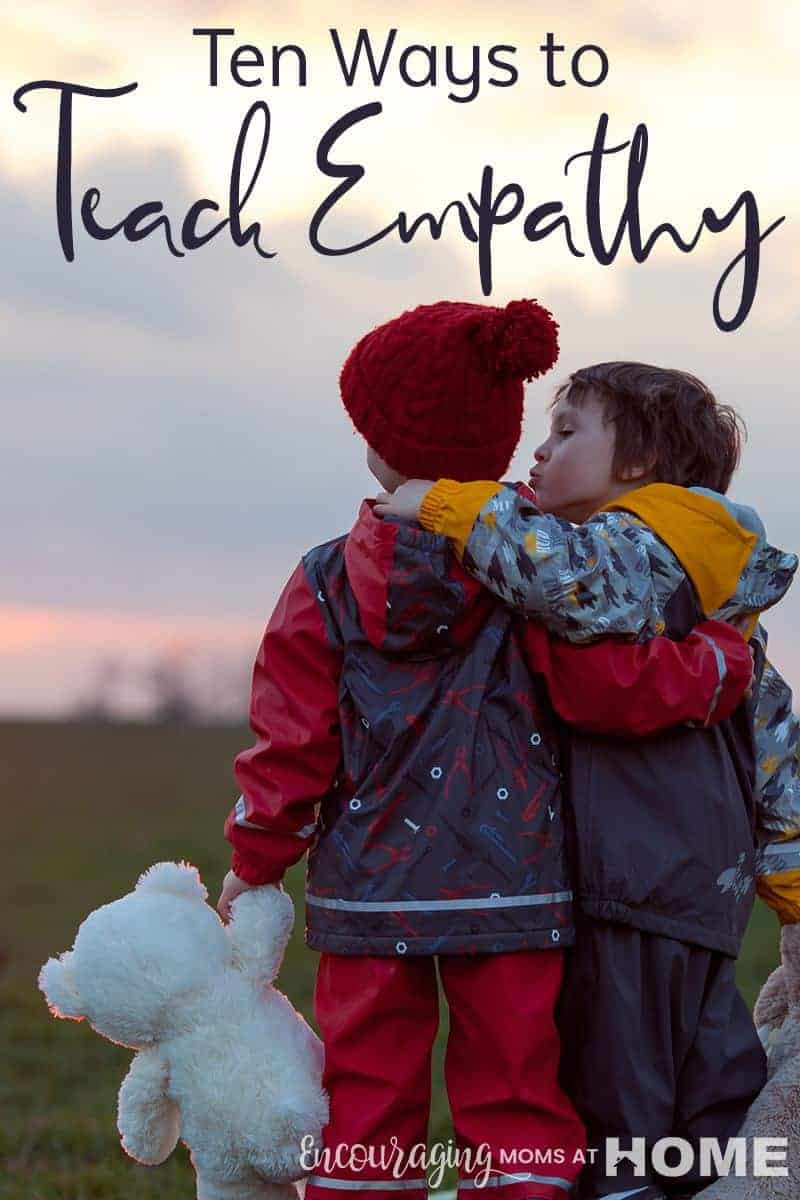 Do you know what empathy is? Do your kids? It is the ability to be aware of how other people are feeling and putting yourself in their shoes. In a world that lacks compassion, take the opportunity to teach your kids empathy towards others. In doing so, you will extend compassion into the world around us.