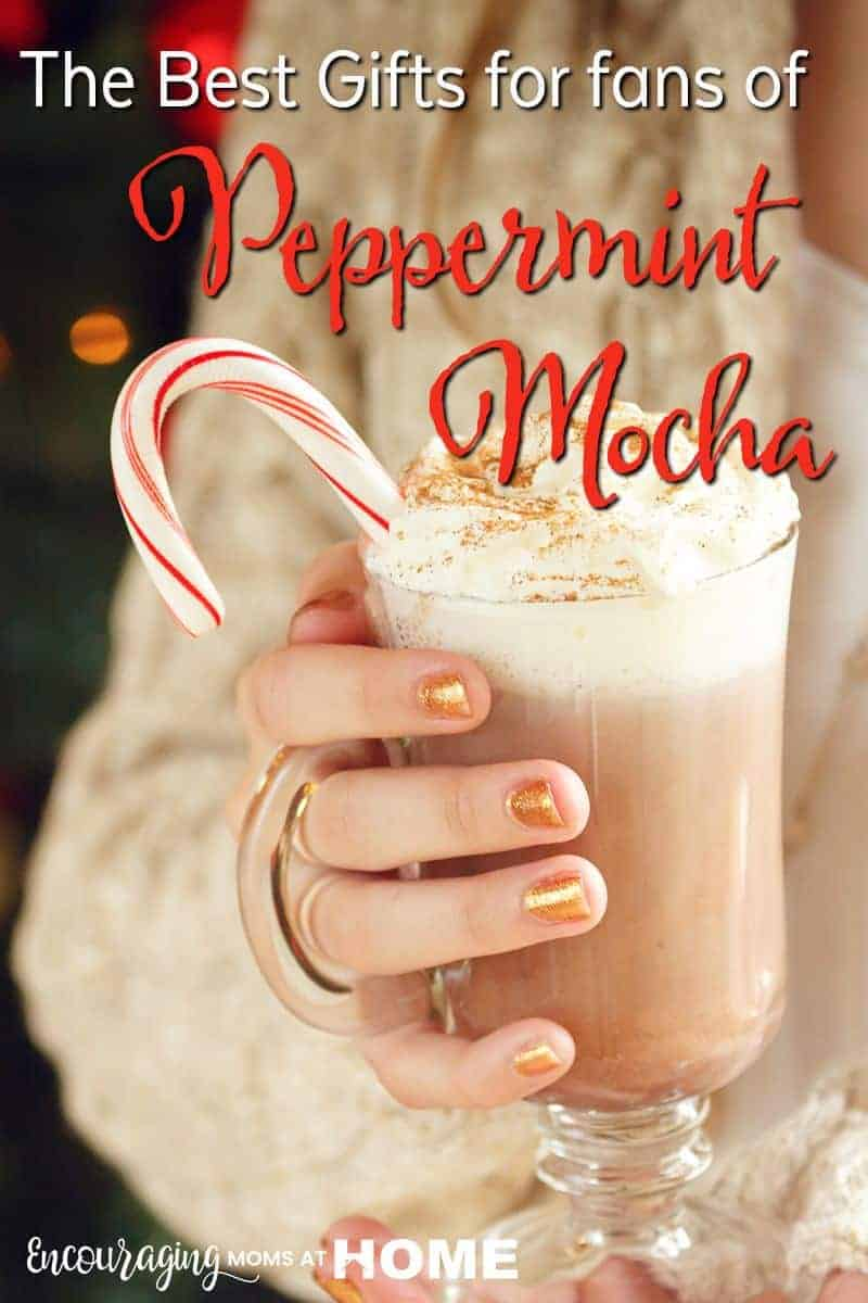 Do you know someone that loves Peppermint Mocha?  The combination of the flavor and smell just makes them smile.  Take a look at this list of gifts that will make them feel extra special.