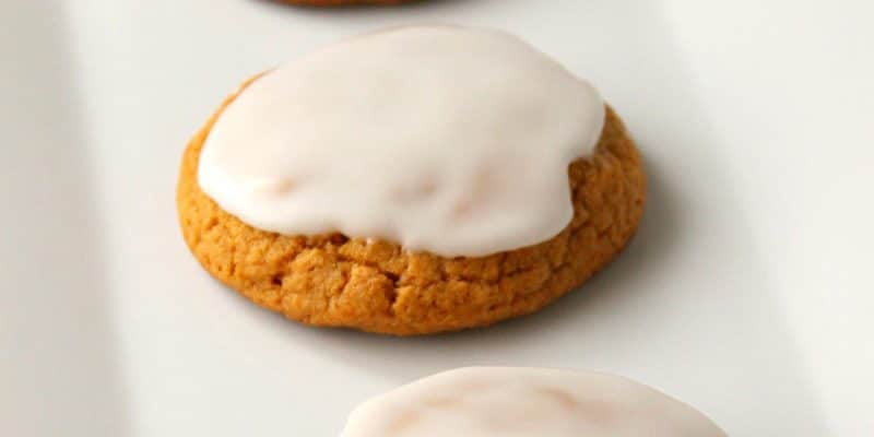 Frosted Soft Pumpkin Cookies Recipe