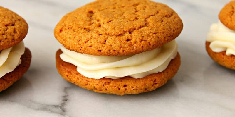Pumpkin Spice Whoopie Pie Recipe