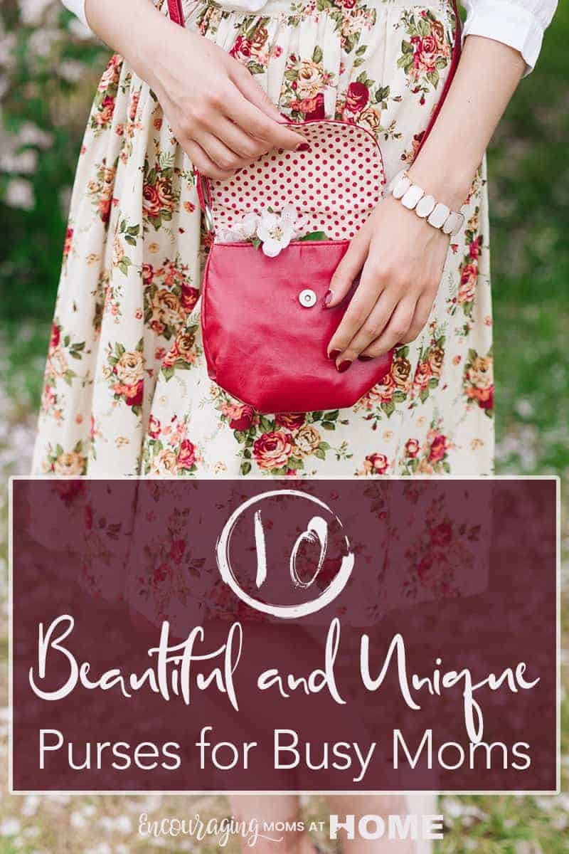 Ten Beautiful and Unique Purses for Busy Moms