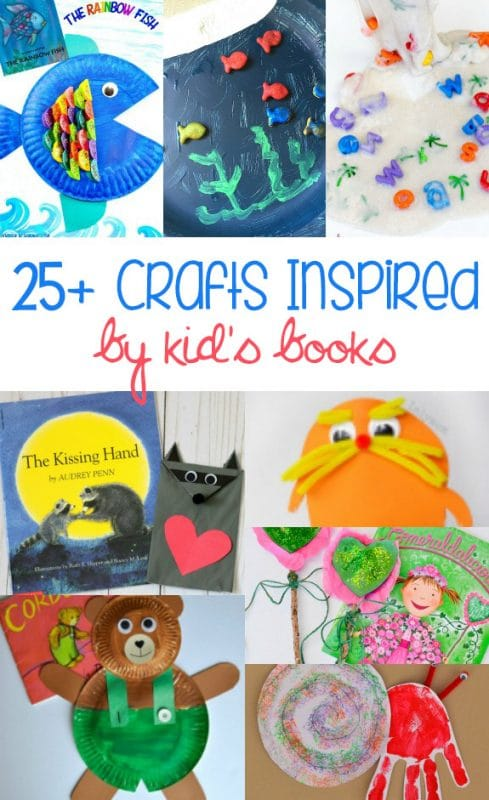 Looking for a fun way to reinforce what your kids are reading? These crafts are great ideas to help your kids learn and have fun at the same time,