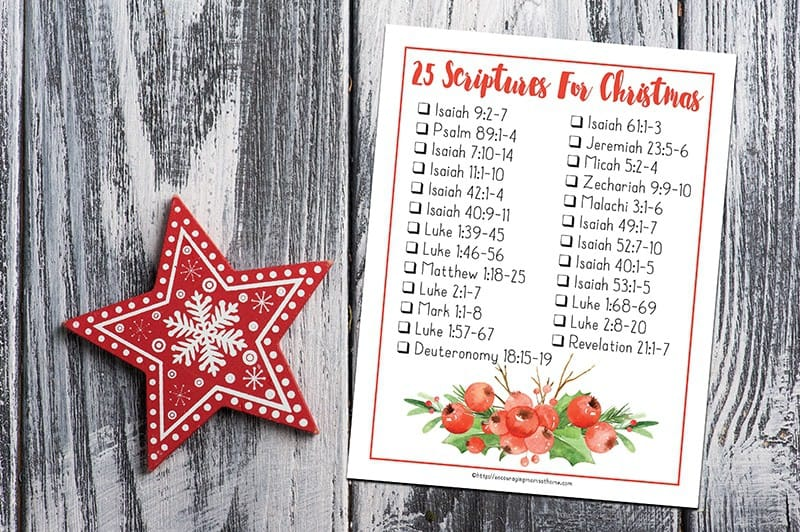 11 Inspiring Advent Christmas Quotes Prayers And Bible: Free Printable Bible Verses To Read For Christmas And Advent