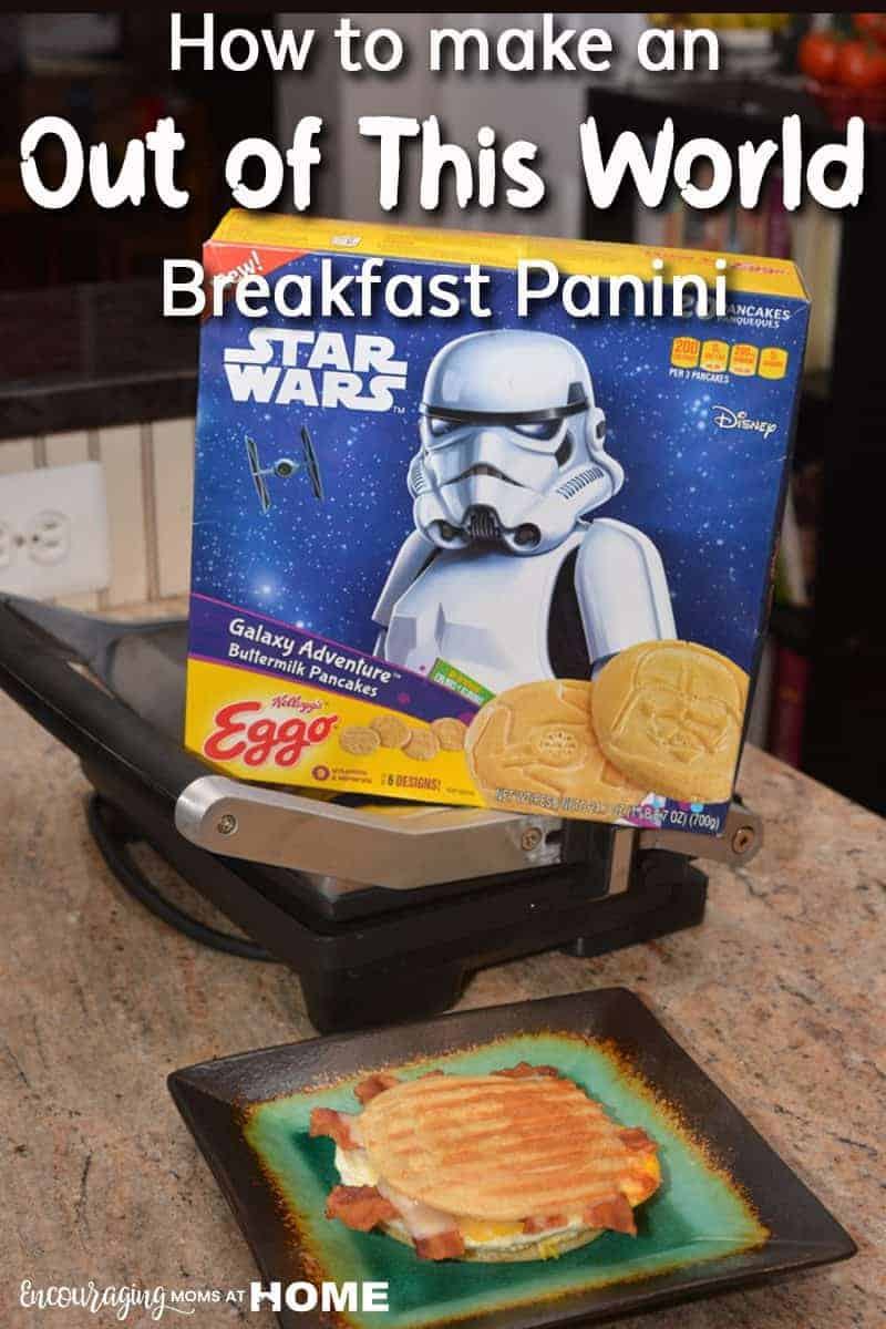 Make Out of this World Breakfast Paninis! The perfect way to celebrate with delicious food and clean ingredients. #AD