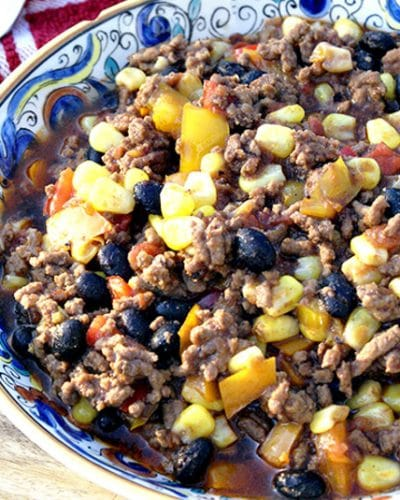 Trim Healthy Mama Tex Mex Chili THM S or THM E