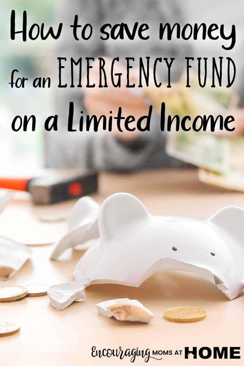Do you have an emergency fund? It is so important to have savings to fall back on. But what if your income is limited? Take a look at tips on how to save for a crisis.